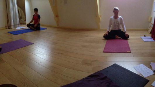 Méditation après le pranayama