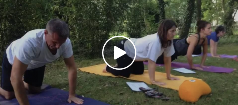 Pratique du yoga en plein air