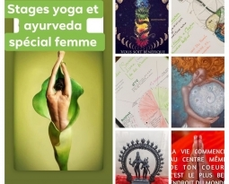 Stages yoga et Ayurveda pour la femme en 3 modules