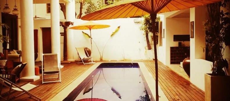 Réservation chambres pour le prochain voyage  en Inde